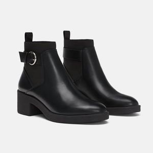 Zara • Elastic Band Ankle Boot
